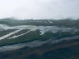 Rain from the train